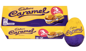 Cadburys Caramel 3 pack Eggs