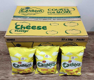 Quavers 32 Pack Box
