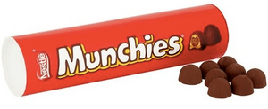 Munchies Christmas Stocking Tube