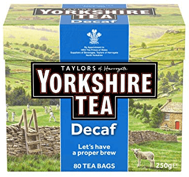 Yorkshire Decaf Tea Bags 80