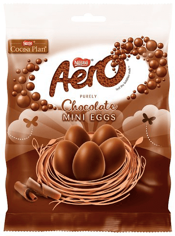 Nestle Aero Mini Eggs Bag