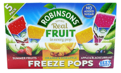 Robinson's Freeze Pops NEW