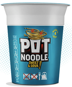Pot Noodle Original Sweet and Sour Flavour