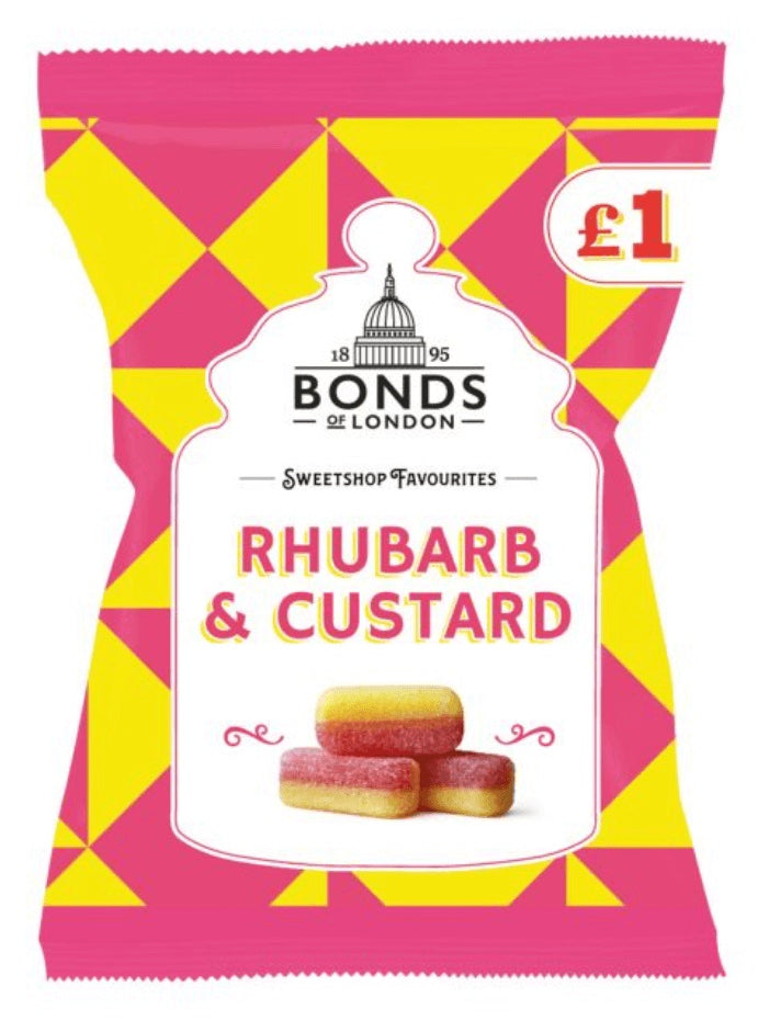 Bonds Rhubarb and Custard