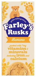Farleys Rusks Banana Biscuits NEW