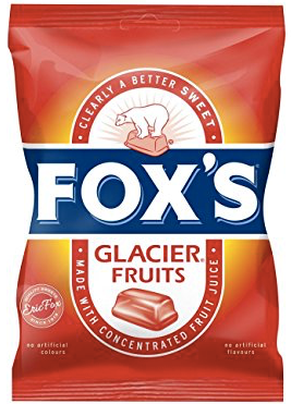 Fox's Glacier Fruits Bags