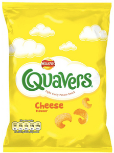 Walkers Quavers Cheese Crisps BIG GRAB 60g NEW!