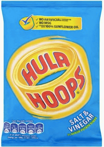 Hula Hoops Salt and Vinegar