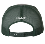 Packer PERSONALIZED EMRBOIDERED Trucker's Snapback Hat
