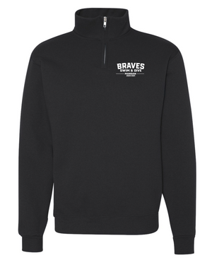 Mandan Swim & Dive 1/4 Zip-Up