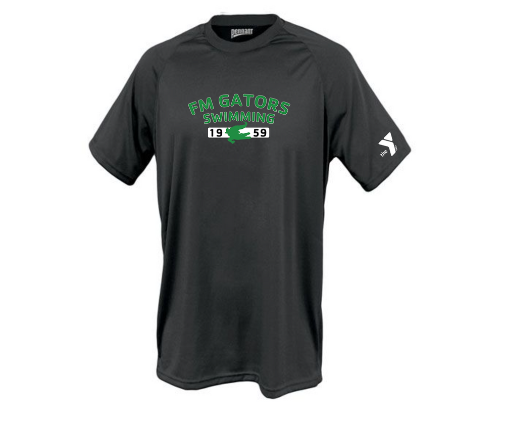 Gator Black DriFit Short Sleeve T-shirts