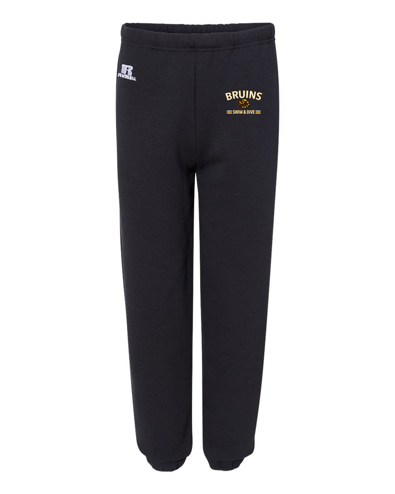 Bruins Dri Power Closed Bottom Sweats
