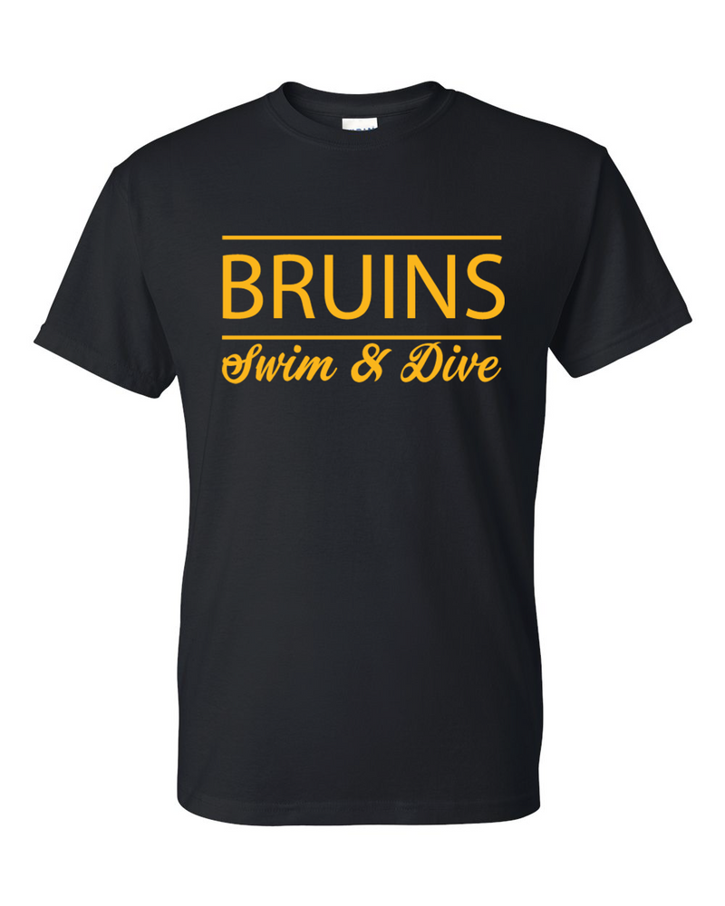 Bruins Script Short Sleeve T-shirt
