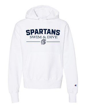 Spartans Hooded Sweatshirt (Champion)