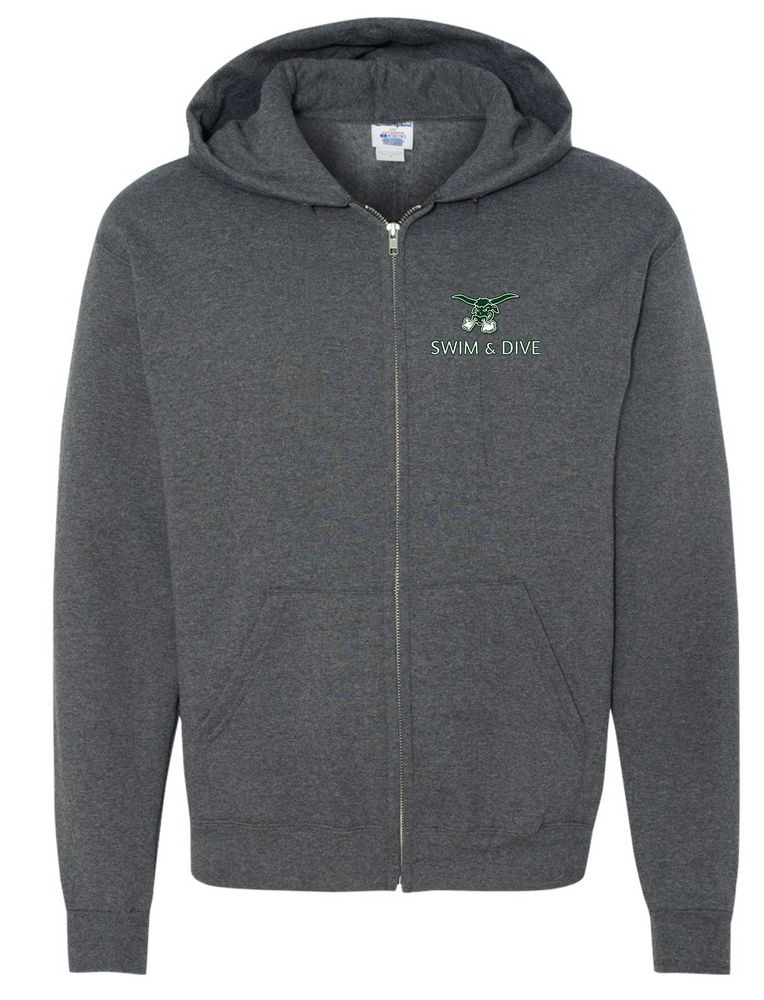 PACKER EMBROIDERED Full Zip Hoodie
