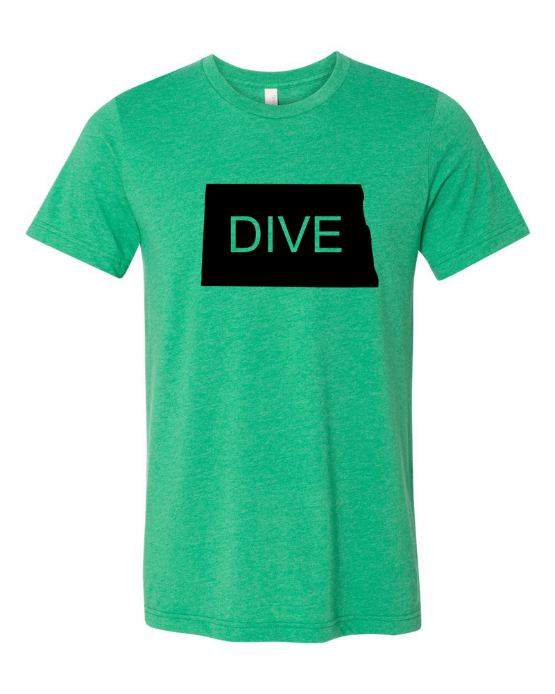Dive NORTH DAKOTA T-shirt