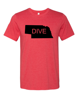 Dive NEBRASKA T-shirt