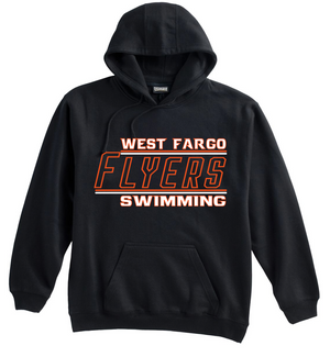 Adult Flyers Cotton/Poly Hoodie (Alt. Design 2)