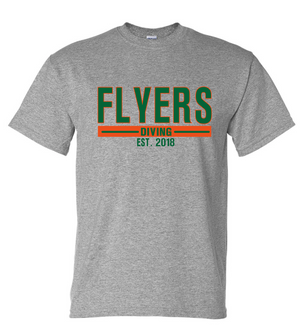 Flyers Diving Cotton/Poly Short Sleeve T-shirt