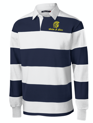 Spartans Embroidered Team Rugby Shirt