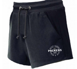 Packers Team Women's Fleece Shorts (With Pockets)