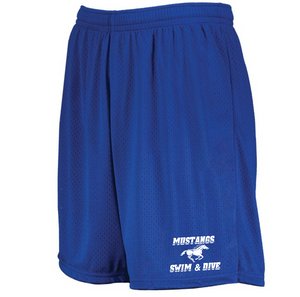 Mustang 7-Inch Inseam Gym Shorts