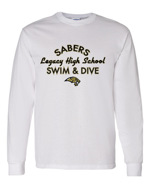 Sabers Team Cotton/Poly Blend Long Sleeve T-shirt