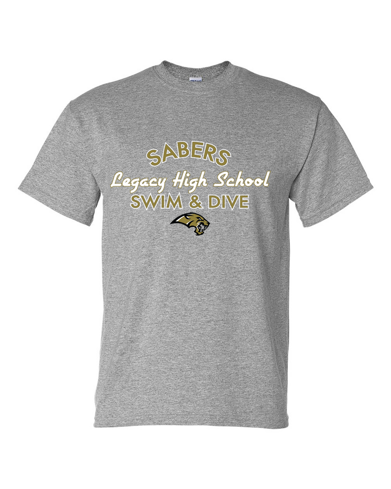Sabers Team Cotton/Poly Short Sleeve T-shirt