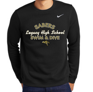 Nike Sabers Team Fleece Crew