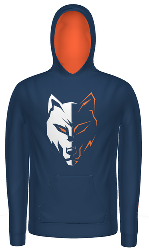 Youth Wolfpack Sublimated Hoodie with Name and Number