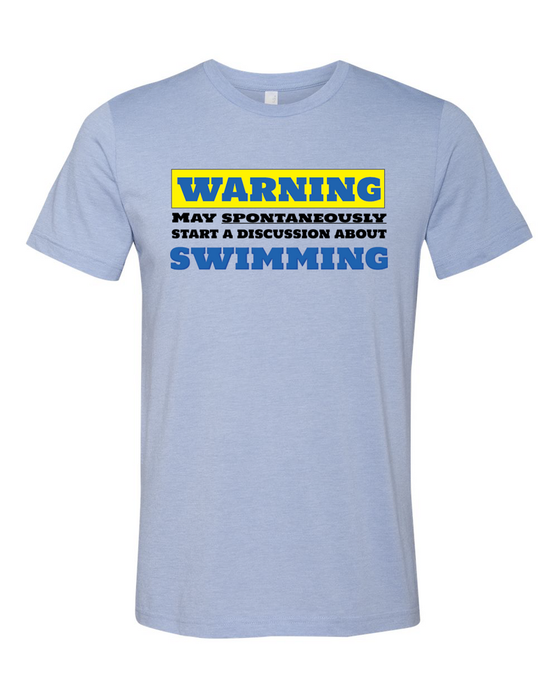 Swim Warning T-shirt