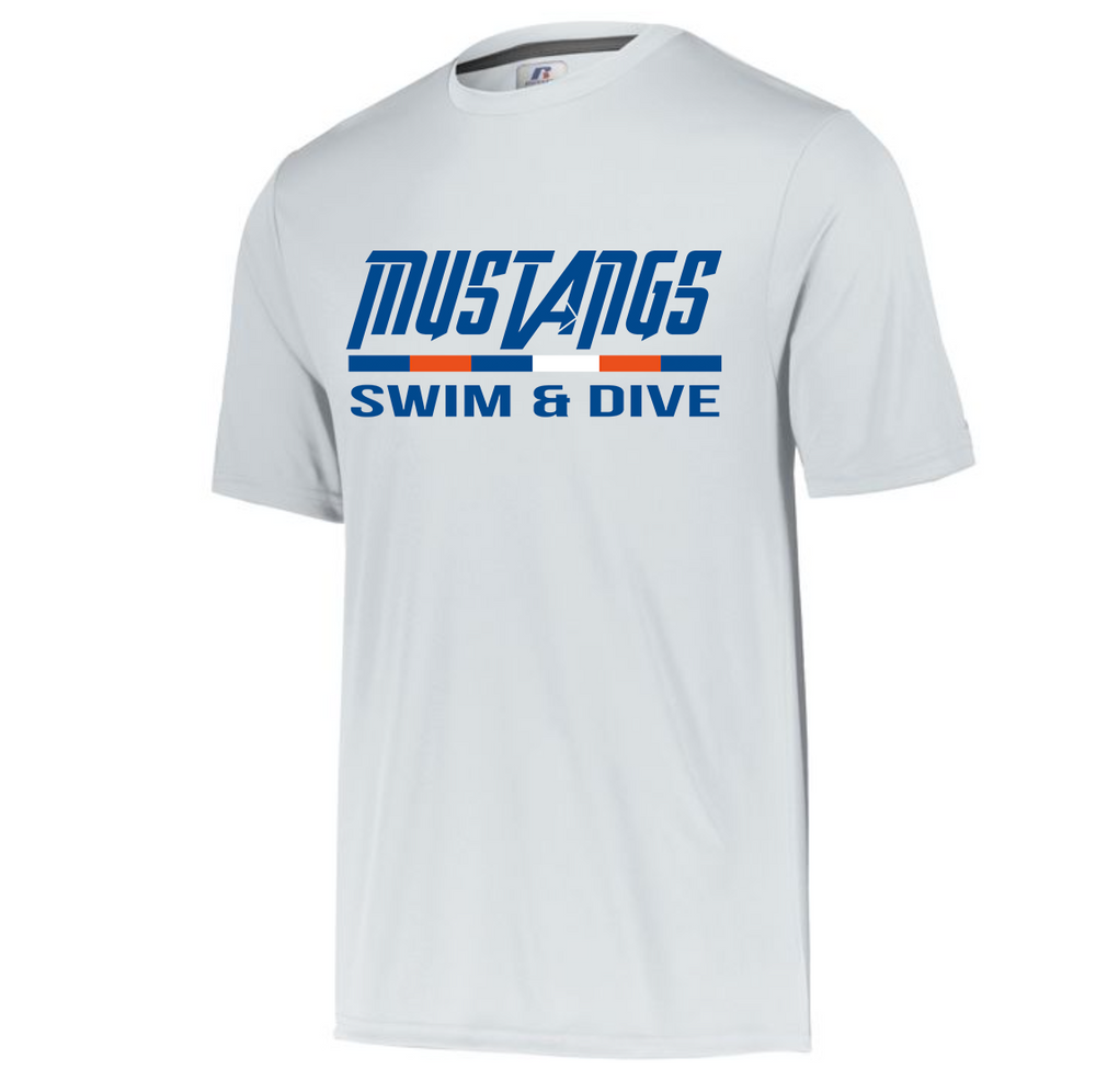 Mustang Short Sleeve Dri-Fit T-shirt (Alt. Design 2)