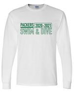 Packer Long Sleeve Cotton/Poly T-shirt (Alt. Design)