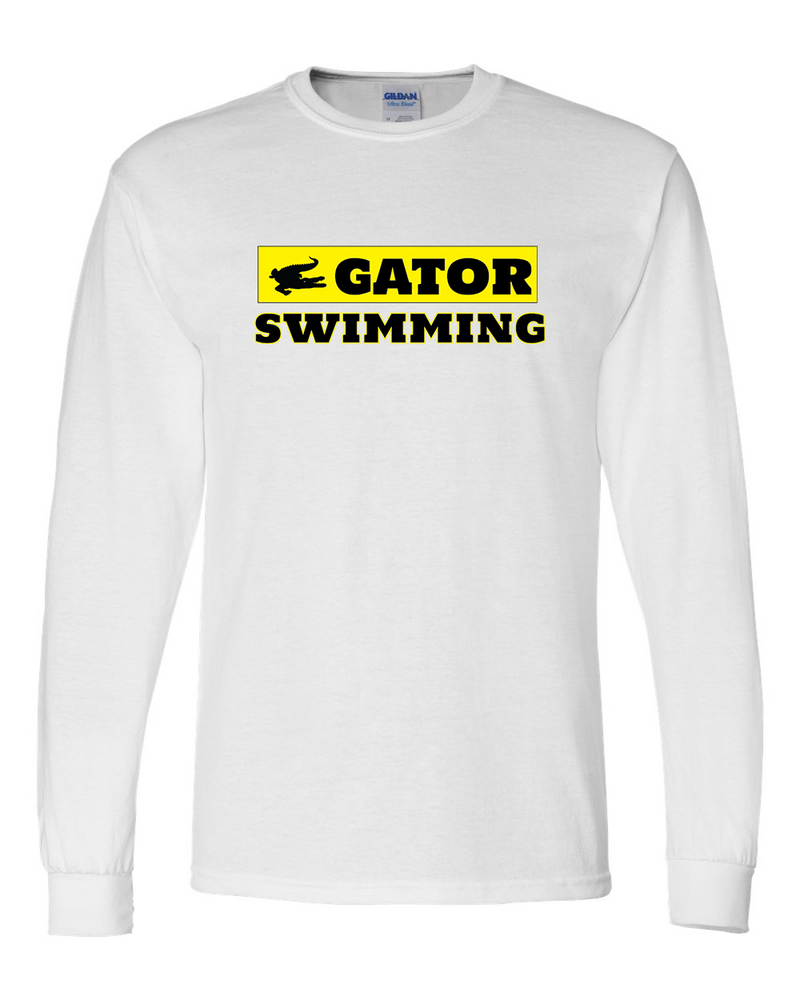 FM Gator Swimming Long Sleeve T-shirt