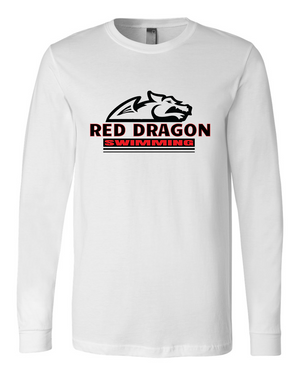 Red Dragon Long Sleeve T-shirt III