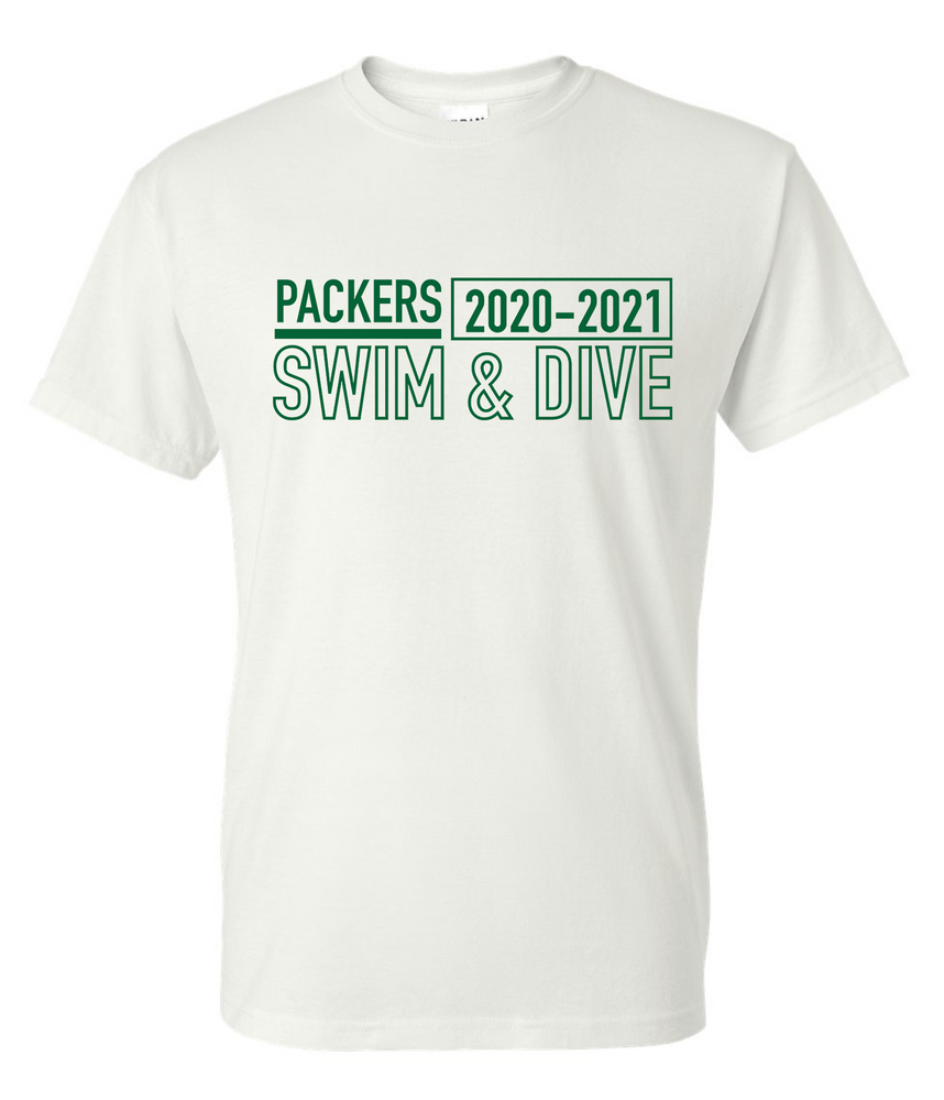 Packer Short Sleeve Cotton/Poly T-shirt (Alt. Design)
