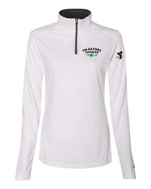 Women's FM Gators 3/4 Zip Up
