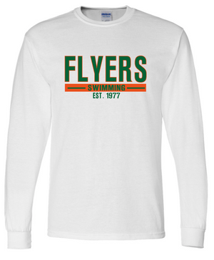 Flyers Youth Long Sleeve Cotton T-shirt