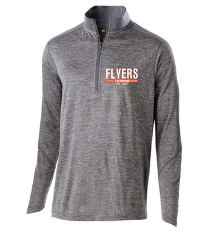 Flyers Youth Electrify 1/2 Zip DriFit Pullover