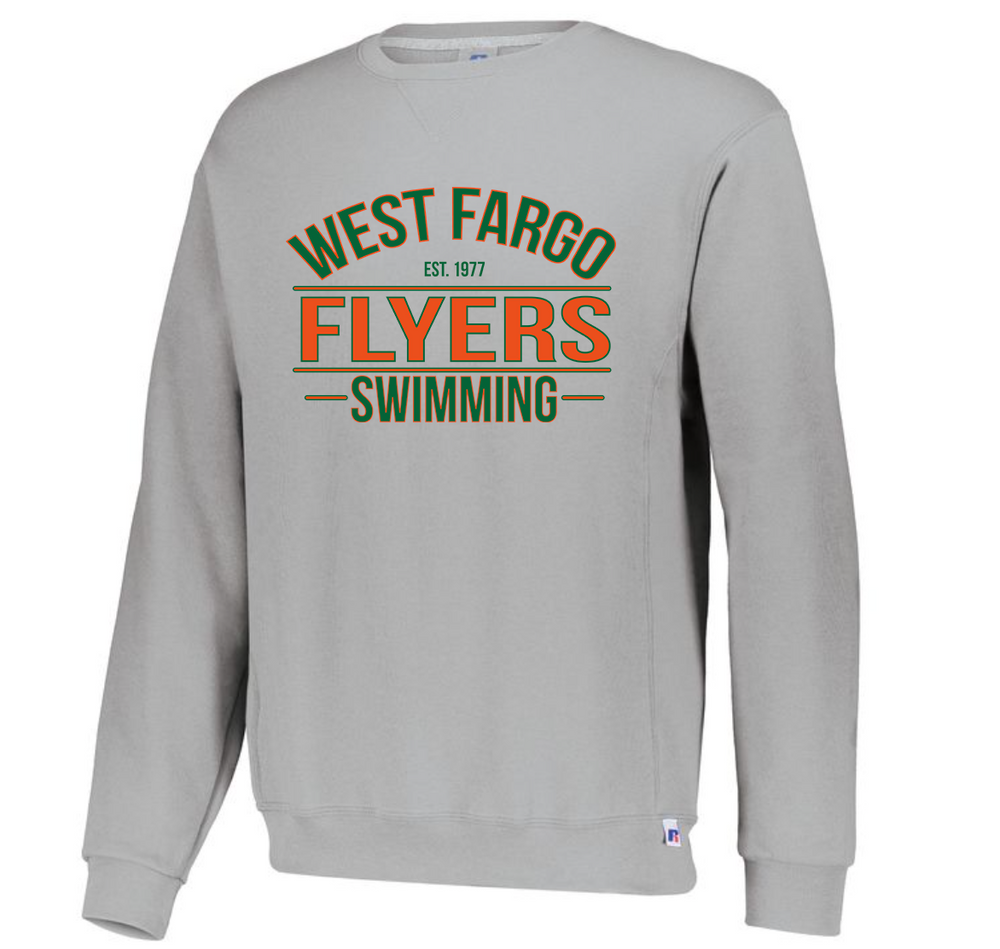 Flyers Youth Fleece Crewneck (Alt. Design 2)