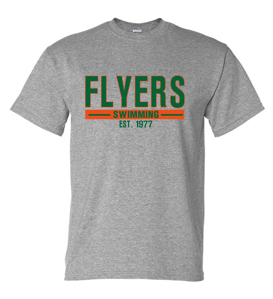 Flyers Youth Short Sleeve Cotton/Poly T-shirt (Alt. Design 1)