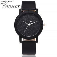 Cute Moon Stars Design Analog Wrist Watch