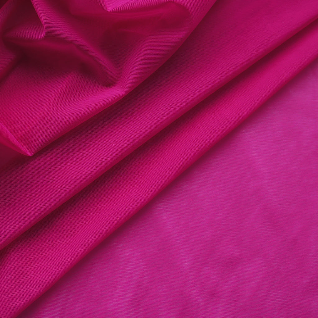 Alicante Stretch Mesh - Magenta