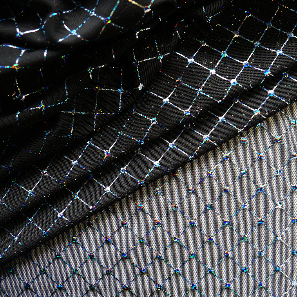 Diamante Mesh - Black