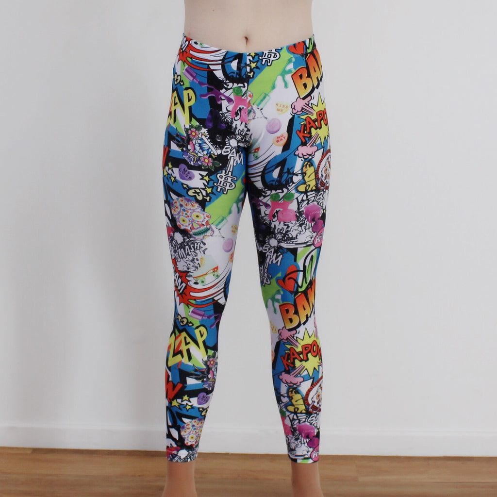 Full Length Leggings - Printed Lycra