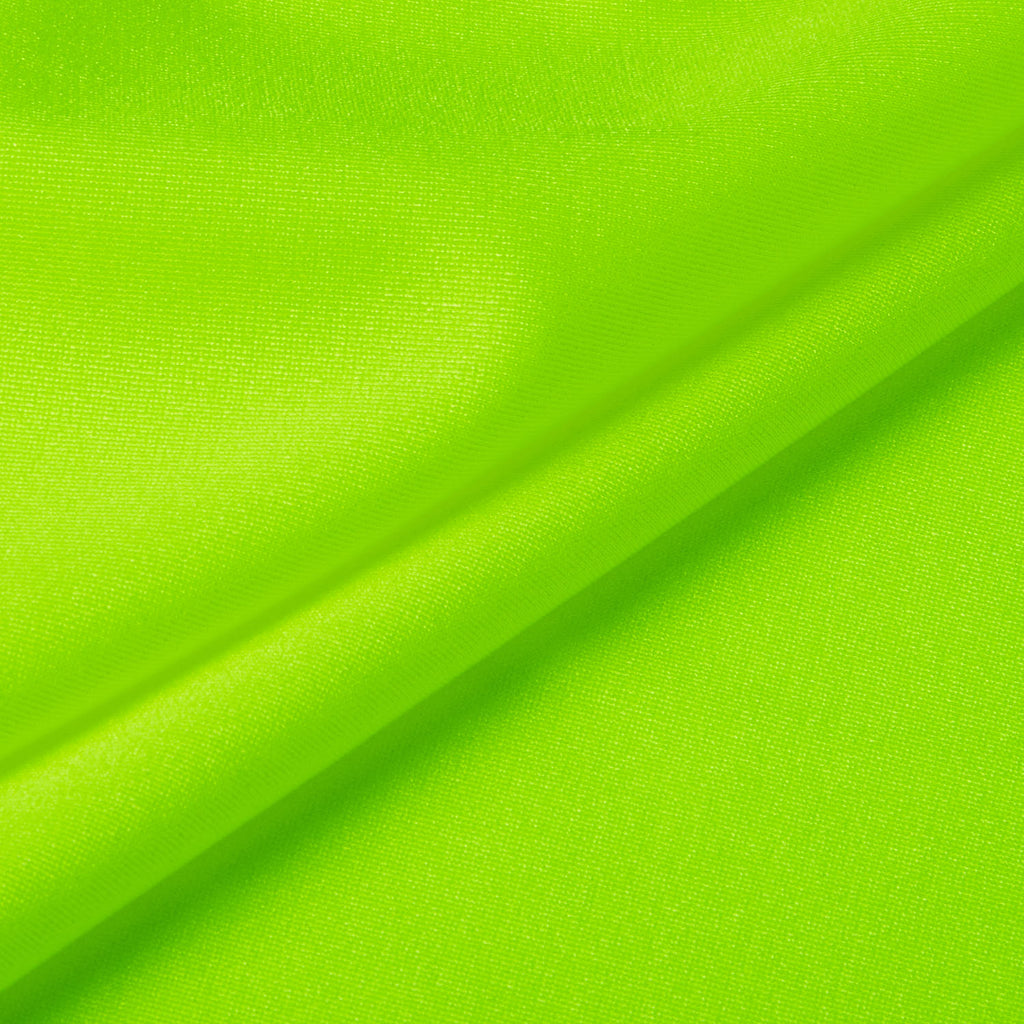 Shiny Lycra - Neon Green
