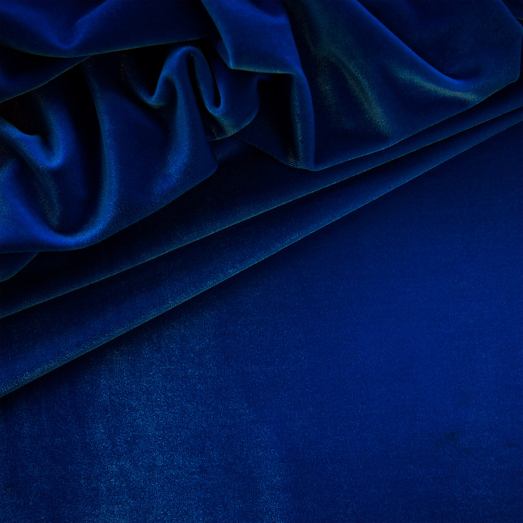 Stretch Velvet - Royal