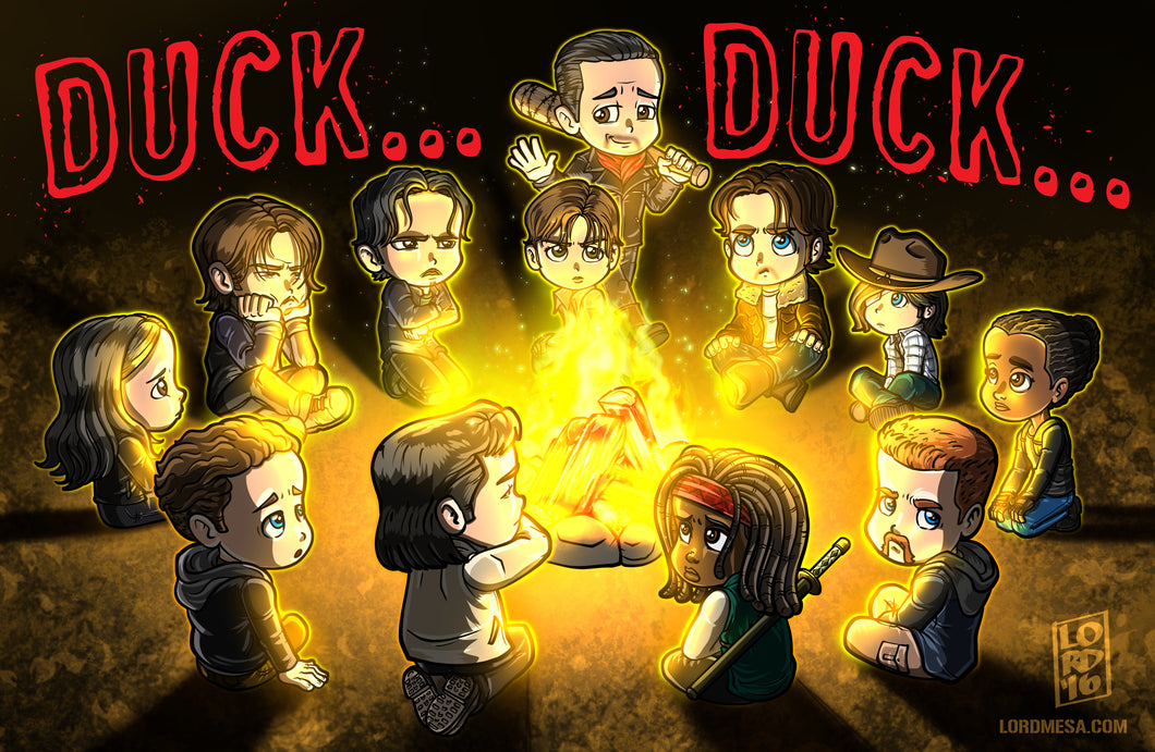 Duck... Duck.. Negan by Lord Mesa