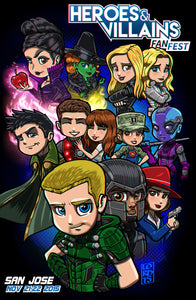 HVFF San Jose 2016 Event Poster by Lord Mesa