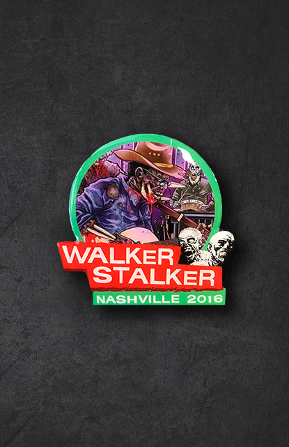 Walker Stalker Nashville 2016 Pin